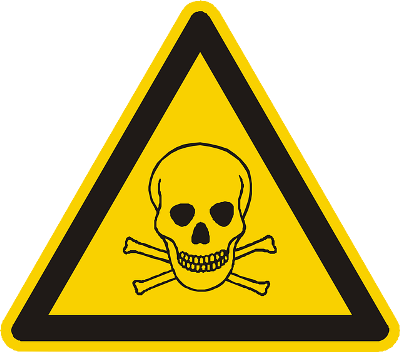 Pest Control Poison Warning